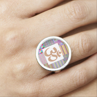 OmMantra Mantra Spirit Love Romance nvn241 Dating Photo Rings