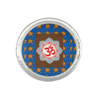OMmantra Om Mantra Yoga Meditation Chant symbol Rings