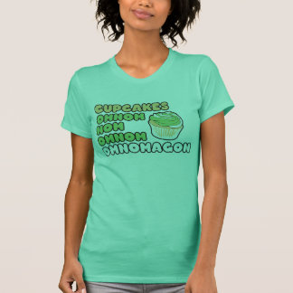 OMNOM Cupcakes T-Shirt