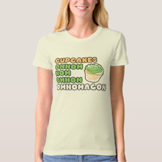 OMNOM Cupcakes T Shirts