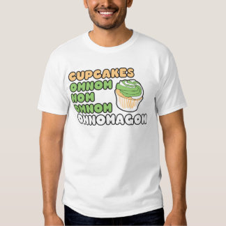 OMNOM Cupcakes Tees