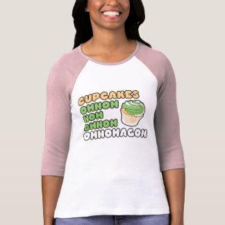OMNOM Cupcakes Tshirts