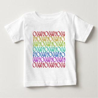 OMNOMNOMNOM 3 Rainbow 1 Baby T-Shirt