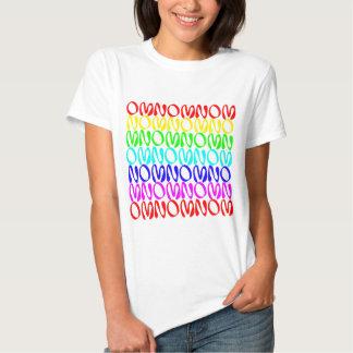 OMNOMNOMNOM 4 Rainbow 2 T Shirts