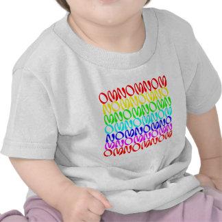OMNOMNOMNOM 4 Rainbow 2 Tee Shirts