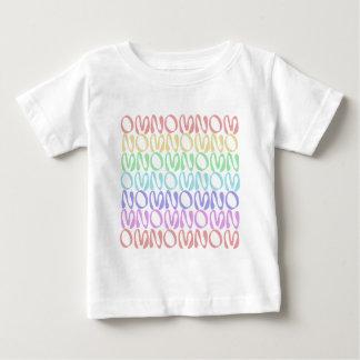 OMNOMNOMNOM 5 Rainbow 3 Baby T-Shirt
