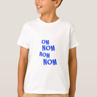omnomnomnom_blue T-Shirt