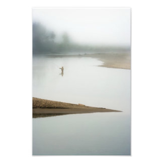 On A Foggy Morning. Photo Print