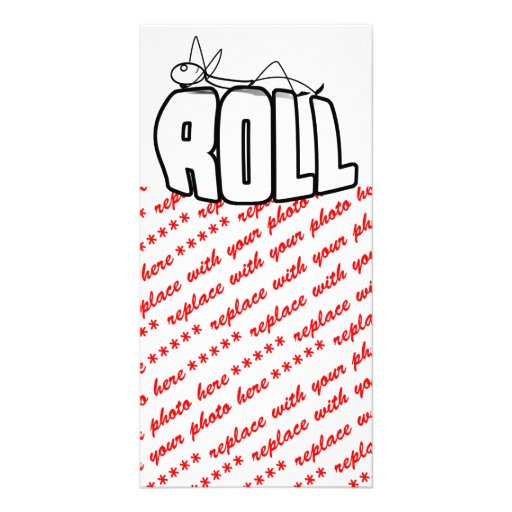 On a Roll Photo Greeting Card