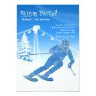 On A Run Skiing Invitation