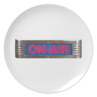 On-Air Broadcasting Plate