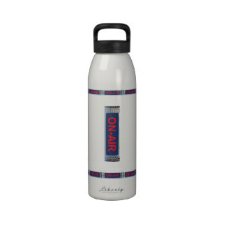 On-Air Broadcasting Water Bottle