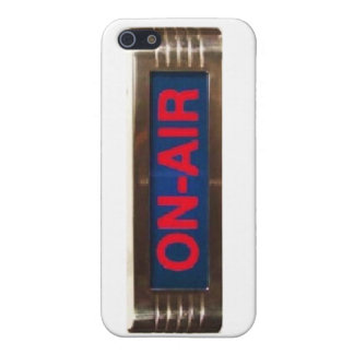On-Air iPhone Cover for Broadcasters iPhone 5 Cover