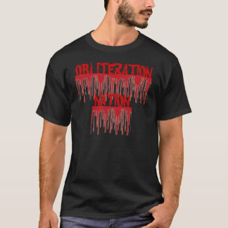ON Blood Red tee