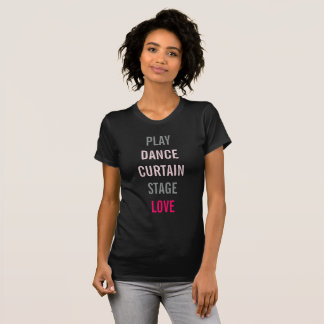 On Broadway Professional Arts Personalize Tee