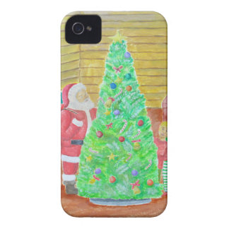 on christmas eve iPhone 4 Case-Mate cases
