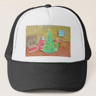 on christmas eve trucker hat