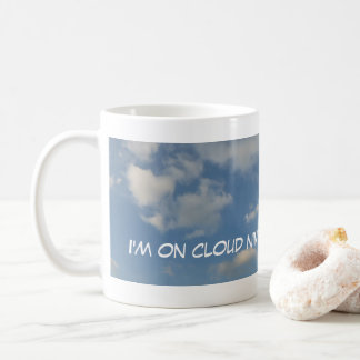 On Cloud Nine Panoramic Coffee Mug