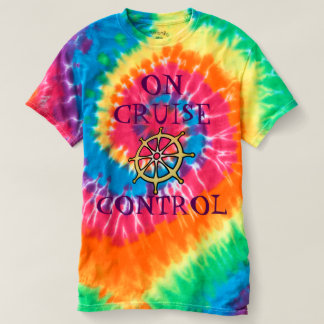 On Cruise Control Men's Spiral Tie-Dye T-Shirt