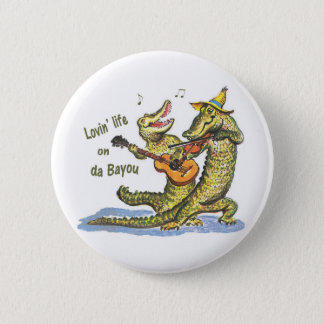 On da Bayou 6 Cm Round Badge