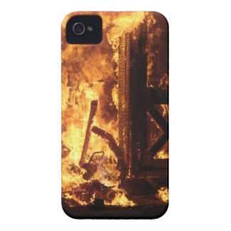 On Fire iPhone 4 Case
