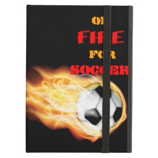 On Fire for Soccer Case For iPad Air
