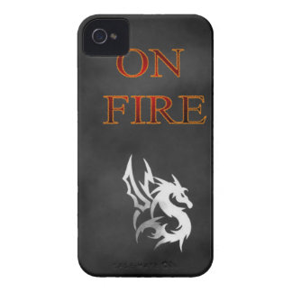On Fire- iphone 4 case