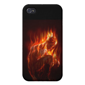 On Fire iPhone 4 Cases