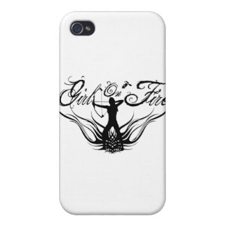 On Fire iPhone 4/4S Cover