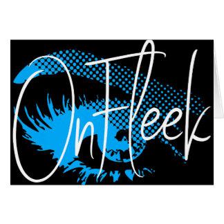 On Fleek Pretty Eye and Eyebrow - Electric Blue Card