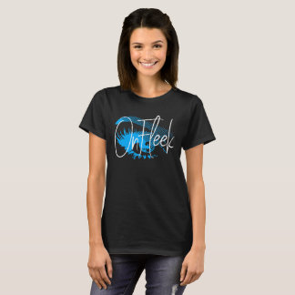 On Fleek Pretty Eye and Eyebrow - Electric Blue T-Shirt
