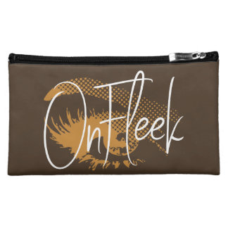 On Fleek Pretty Eye and Eyebrow - Mocha Brown Makeup Bag