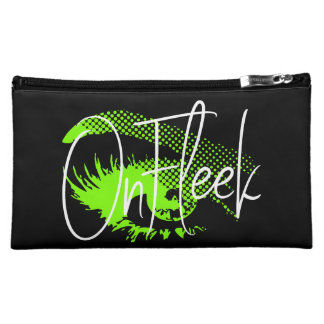 On Fleek Pretty Eye and Eyebrow - Neon Green Makeup Bag