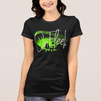 On Fleek Pretty Eye and Eyebrow - Neon Green T-Shirt