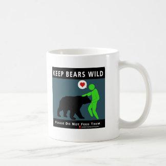 (on front) Keep Bears Wild Coffee Mug