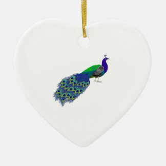 ON FULL DISPLAY CERAMIC HEART DECORATION