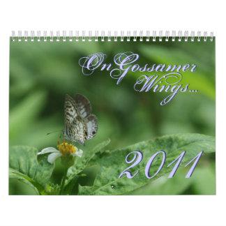 On Gossamer Wings 2011 Butterfly Calendar