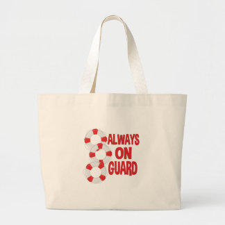 On Guard Large Tote Bag