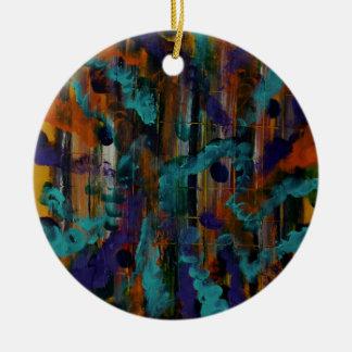 On hearing a sound ceramic ornament