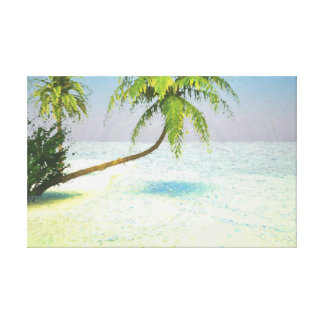 On holiday digitally handpainted canvas print