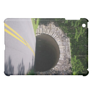 On Motorcycle Approaching Tunnel Ipad Speck Case iPad Mini Cases