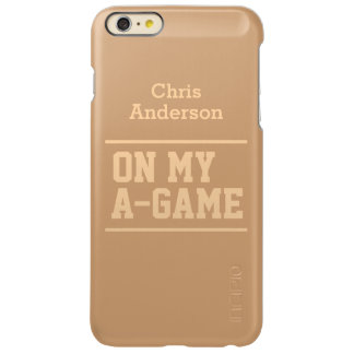 """On My A-Game"" custom name cases"