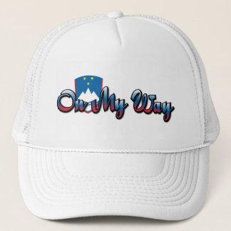 On My Way Trucker Hat