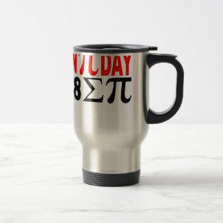 On Pi Day i 8 Sum Pi . Travel Mug