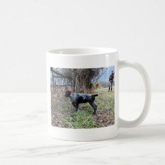 On point puppy coffee mug