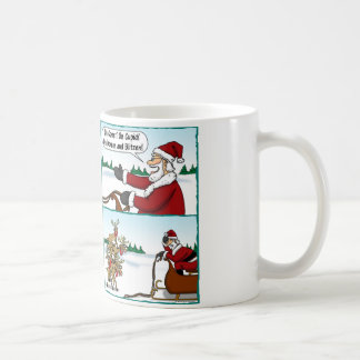 On Reindeer, On! Coffee Mug