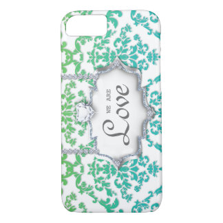 ON SALE Damask Love Monogram Cell Phone Cover