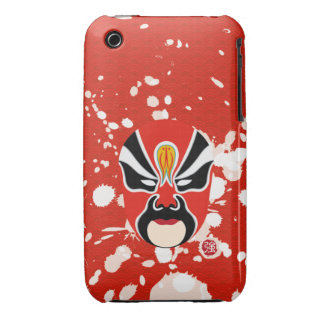 On Sale!! Samsung Mobile Gift - Chinese Opera Mask iPhone 3 Case-Mate Case