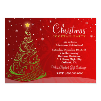 ON SALE! Starry Night Christmas Invite