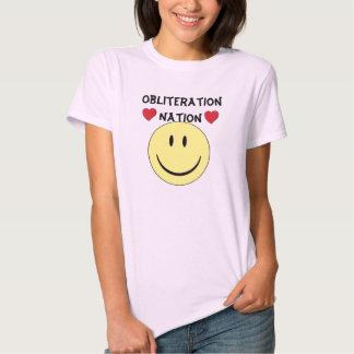 ON smile heart tee